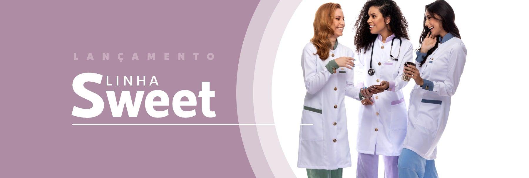 Lançamento Jaleco Sweet