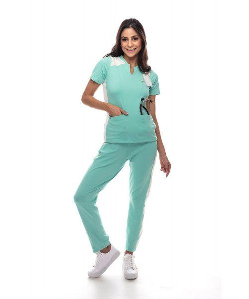 Pijama Cirúrgico Dynamic Verde Menta