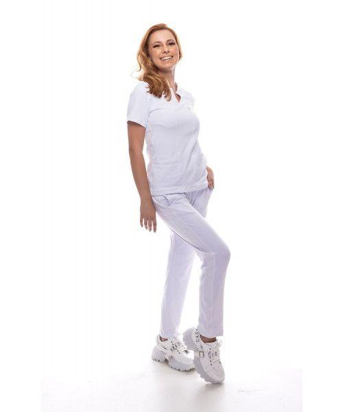 Pijama Cirúrgico Dynamic Branco