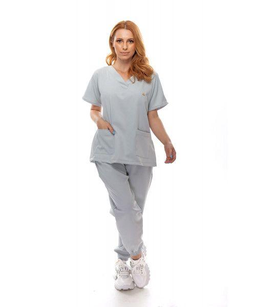 Pijama Cirúrgico Confort Alumínio