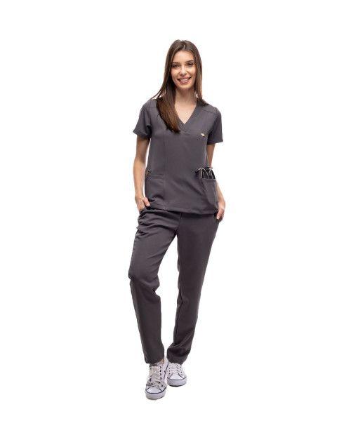 Pijama Cirúrgico Active Chumbo