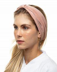 Faixa Turbante de Lurex Rosé